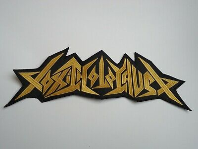 Toxic Holocaust Thrash Metal Embroidered Back Patch
