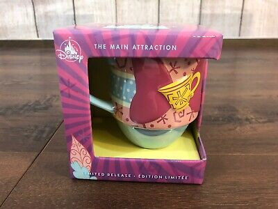 Disney Store Minnie Mouse The Main Attraction Mug Mad Tea Party Limited Edition!