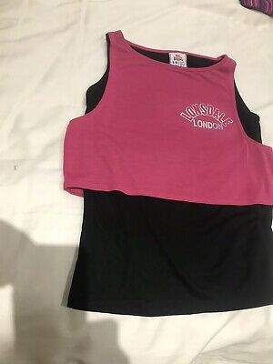 New!!!Girls Lonsdale-Dance / Gym Top Age 9-10