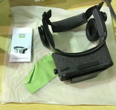 ETVR Virtual Reality 4.0 VR Headset Black And Gray, New, E2