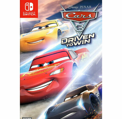 Nintendo Switch-CARS 3 DRIVEN TO WIN GAME NEW