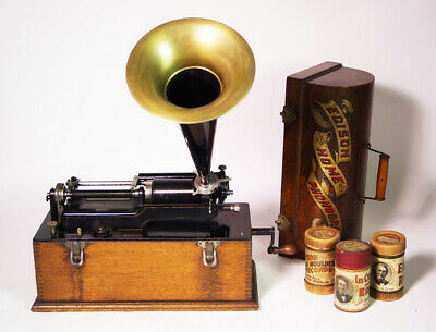 Edison Home Model A Suitcase Home Phonograph Phonographen