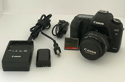 Canon EOS 5D Mark II 17k Shutter with 50mm F/1.4 Lens