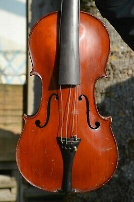 Old French Violin, Charles BAILLY 1932, very good used condition