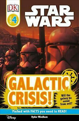 DK Readers L4: Star Wars: Galactic Crisis! by Ryder Windham (English) Paperback