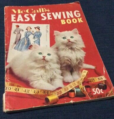 McCalls Easy Sewing Book - Vintage Collectable - 1958 USA