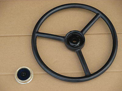 Steering Wheel + Cap For Ih International Cub Cadet 100 102 122 123