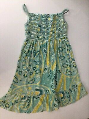 Juicy Couture Girls Terry Towelling Dress Cover Up Age 12 Years Blue Yellow
