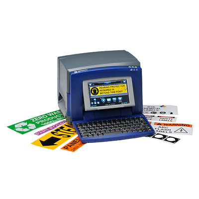 Brady BBP31 Sign & Label Printer Industrial Tags Factory Warehouse Safety Labels