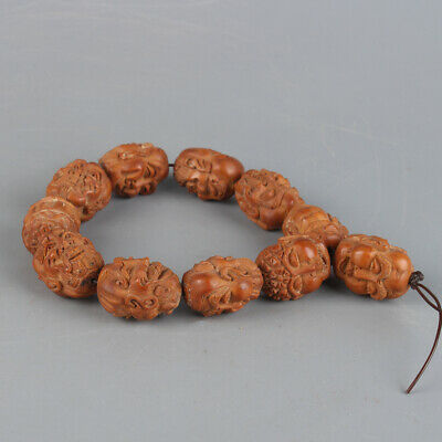 Chinese Exquisite Handmade Olive nuclear bracelets