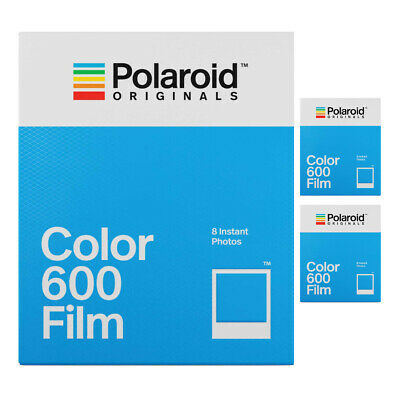 Polaroid Originals Color 600 Instant Camera Film (24 Exposures)