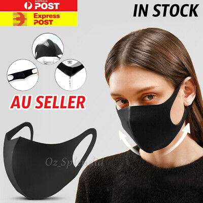 Washable Unisex Face Cover Reusable Adult Mouth Protective Masks NOW IN STOCK