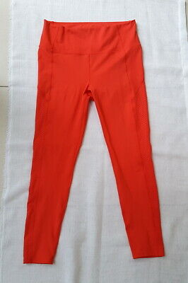 """""""Rockwear"""" Bnwt, Size 14 Red Full Length Tights / Active Pants"""
