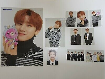 Monsta X Twotuckgom Official Photo Card Photocard+Poster I.m Changgyun Full Set