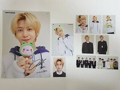 Monsta X Twotuckgom Official Photo Card Photocard+Poster Hyungwon Full Set