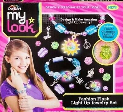 Cra Z Art My Look Foil And Gems Jewelry Tattoos Set Ages Shimmering Body Art 17 33 Picclick