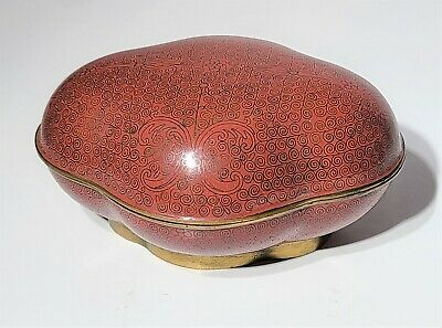 19th c Antique Chinese Cloisonne Box