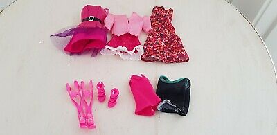 Barbie OriginaI Clothing Lot x 3 outfits.2 x Tops Excellent preloved condition.
