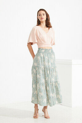 Temt Lola Tiered Maxi Skirt (323812)