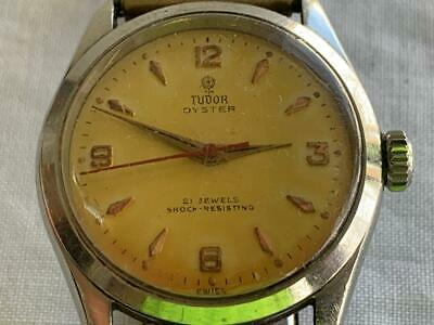 Collectable Vintage Tudor Rolex Oyster 21 Jewels Automatic Wrist Watch 7934