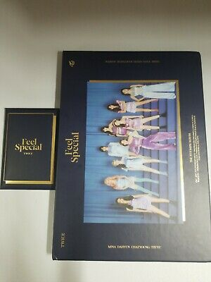 TWICE Album Feel Special Ver.B Nayeon CD Chaeyoung w/ poster & pre-ordere no pc