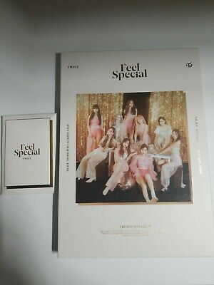 TWICE Album Feel Special Ver.A Tzuyu CD Chaeyoung w/ poster & pre-ordered no pc