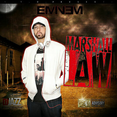 Eminem | Marshall Law DOUBLE DISC (CD Mixtape)