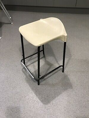 Vintage Retro School Stacking Lab Cafe Kitchen Bar Stool Price For 25 Chairs