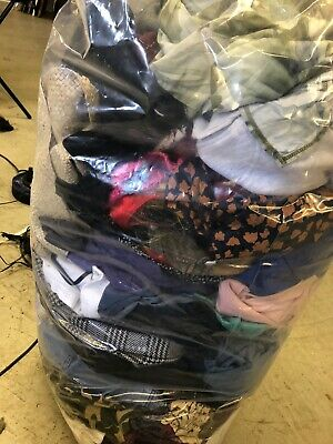 vintage wholesale job lot 22Kg  Clothing Grade D Mixed Vintage Rework Bundle B16