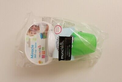 Munchkin Miracle 360 Degree Sippy Cup, 296 ml Capacity For Kids Green