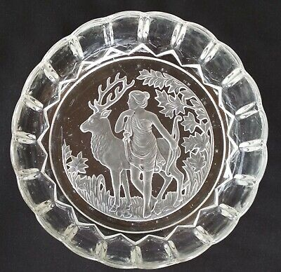 Antique Bowl Diana 21cm x 6.5cm Art Nouveau 1919