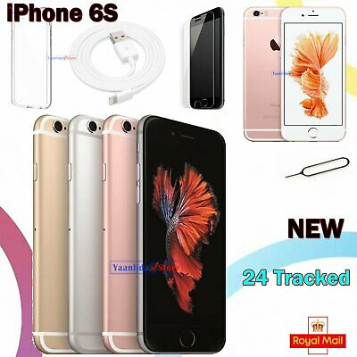 Apple iPhone 6s 32GB 64GB 128GB Smartphone New Sim Free Factory Unlocked + Gift