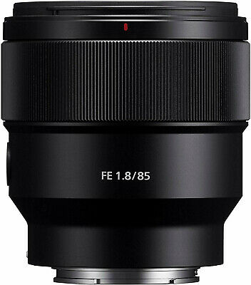 Sony FE 85mm f/1.8 Lens E Mount Full Frame Prime Lens (SEL85F18) / Stock in UK
