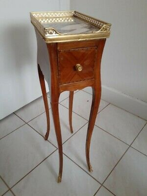 Antique French Federick Massin Side Table With Pierced Guild Bronce Gallery