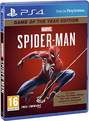 Ps4-Marvel`S Spider-Man - Goty Edition (Ps4) GAME NEW
