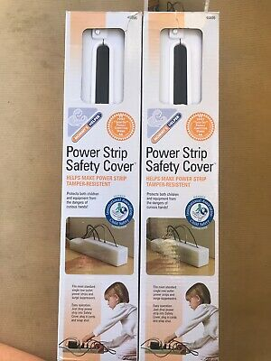 Lot (2) Mommy's Helper Power Strip Outlet Safety Cover Child Baby Proofing 40896