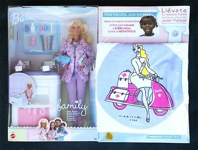 BARBIE HAPPY FAMILY, BABY DOCTOR. WITH EXCLUSIVE T-SHIRT, Unique @ eBay!!! BNIB!