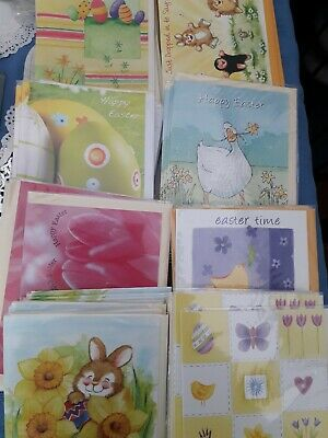50 Easter Cards. Wholesale Joblot Greeting Cards