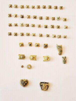SCYTHIANS  belt / trim elements (60gr). 52 pieces  8th cent AD  ORIGINAL48