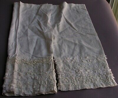 Antique Miss-Matched Victorian Edwardian Pantaloons~Bloomers~Hand Made Scrap