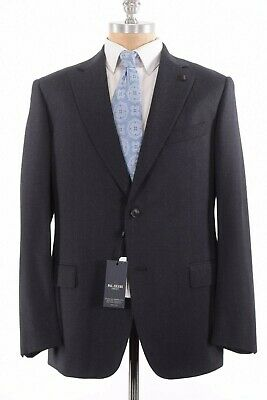 Pal Zileri Concept NWT Sport Coat Size 46R In Black & Gray Wool Cotton $898