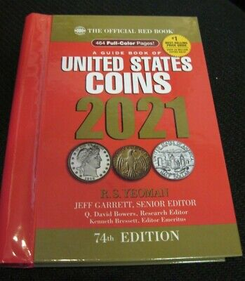 2021 Whitman Official Red Book of US Coins- 74th Edition - HIdden Spiral *NEW*
