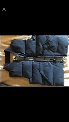 Boys Country Road Puffer Vest Navy Blue Sz 12m With Bonus Jacket