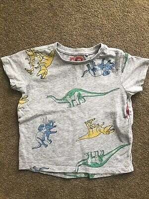 Cotton On Kids Boys Cotton Dinosaur T-Shirt Size 2