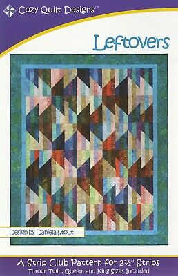 Star of the Show Pattern by Cozy Quilt Designs Jelly Roll /& Scrap Friendly