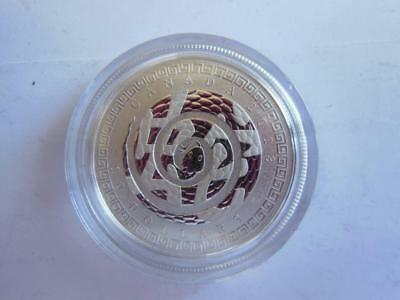 2013 Canada $10 YEAR OF THE SNAKE Silver Coin