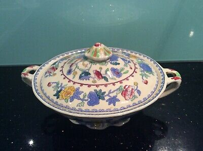 MASONS REGENCY ironstone LIDDED TERRINE