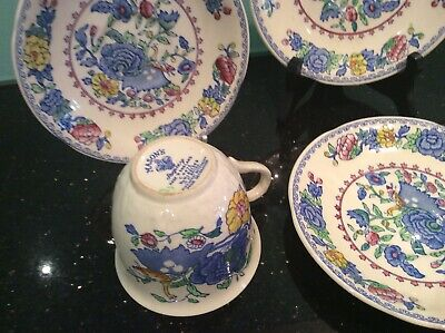 MASONS REGENCY ironstone MADE IN ENGLAND 2 Cups 4 Saucers