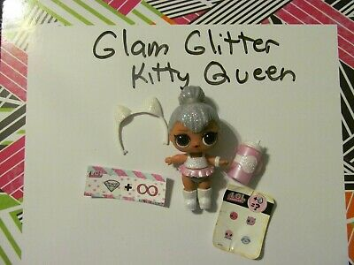 LOL Surprise doll  GLAM GLITTER kitty queen  RARE !!  ready for Easter !!!