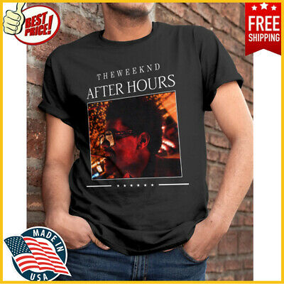 FREESHIP The Weeknd After Hours T-Shirts Classic Unisex Fans Tee Shirt Full Size